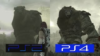 Download Shadow Of The Colossus | PS2 VS PS4 | GRAPHICS COMPARISON | Comparativa Video