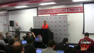 Download Ohio State coach Urban Meyer - March 28 Press Conference (Spring Practice) Video
