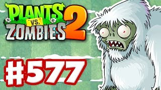 Download Plants vs. Zombies 2 - Gameplay Walkthrough Part 577 - A Very Yeti Feastivus! Video