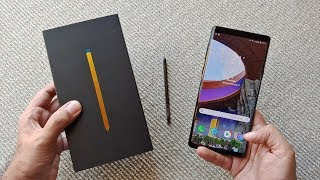 Download Samsung Galaxy Note 9 Unboxing & Overview Video
