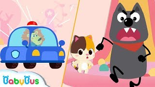 Download Don't Run! Big Bad Wolf | Super Policeman Rescue Team | Learn Colors | Baby Songs | BabyBus Video