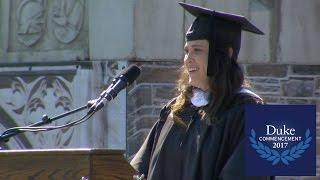 Download Elena Elliott, Duke University Commencement 2017 Student Speaker Video