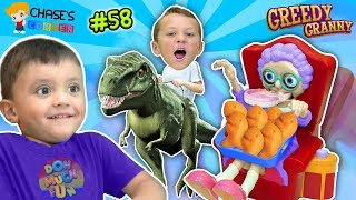 Download Chase's Corner? GREEDY GRANNY loves GOLDFISH Game w/ Shawn! | DOH MUCH FUN #58 Video