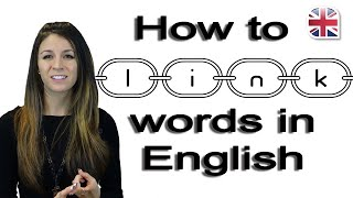 Download Speak English Fluently - How to Link Words - Pronunciation Lesson Video