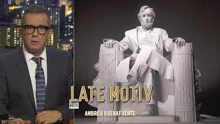 Download LATE MOTIV - Andreu Buenafuente conversa con la estatua de Abraham Lincoln | #LateMotiv157 Video