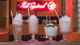 Download Retro Style Ice Cream Based Cocktails | Pink Squirrel Video