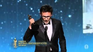Download Michel Hazanavicius Wins Best Director: 2012 Oscars Video