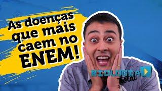 Download AS DOENÇAS QUE MAIS CAEM NO ENEM - Biologia - Prof. Paulo Jubilut Video