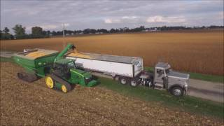 Download DRONE VIDEO SHELLING CORN KLEIN FAMILY FARMS LIBERTY, INDIANA OCT 3, 2016 Video