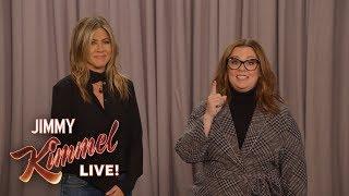 Download Melissa McCarthy vs. Jennifer Aniston – The Great Gravity Debate Video