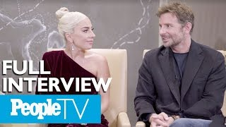 Download Bradley Cooper & Lady Gaga Dish On A 'Star Is Born,' Singing Together & More (FULL) | PeopleTV Video