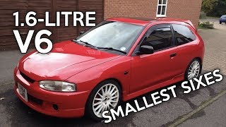 Download 8 Of The Smallest Car Six-Cylinders Ever Video