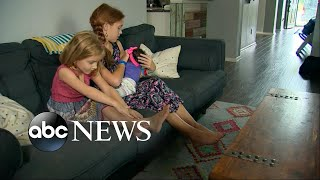 Download 2 young sisters react to their newly adopted baby sister Video