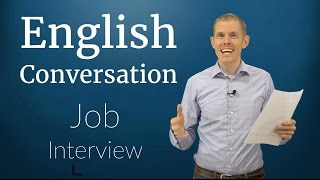 Download English Conversation: Job Interview Video
