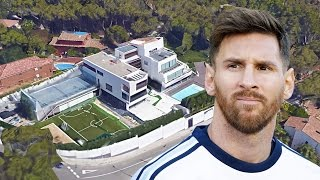 Download Lionel Messi's House In Barcelona (Inside & Outside Design) | 2017 NEW Video