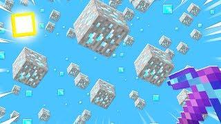 Download MINECRAFT But IT RAINS DIAMOND ORES... Video