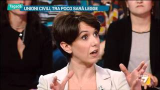 Download Tagadà - Unioni civili, tra poco sarà legge (Puntata 12/01/2016) Video
