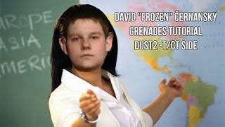 Download David ″Frozen″ Černanský Grenades Tutorial DUST2 -T/CT SIDE Video