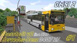 Download OMSI 2 • Oberstedt v2 (line 539) • Mercedes-Benz O407 ZF • Part 1 Video