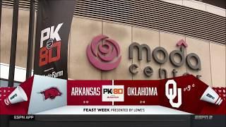 Download Arkansas vs. Oklahoma 11/23/2017 Video