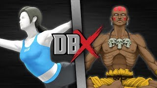 Download Wii Fit Trainer VS Dhalsim (Nintendo VS Street Fighter) | DBX Video