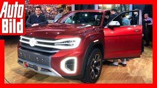 Download VW Atlas Tanoak (2018) Details/Erklärung/Sitzprobe Video