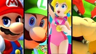 Download Super Mario Sports ALL INTROS 2005-2016 (Wii U, GC) Video