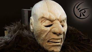 Download Woodcarving ″Krampus″ ►► Timelapse Video