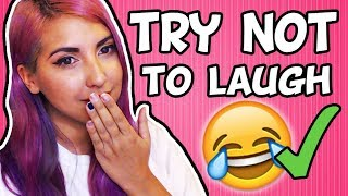 Download I COMPLETED THE TRY NOT TO LAUGH CHALLENGE (Not Clickbait) Video