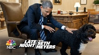 Download Seth Puts A Camera On Obama's Dog Bo Video