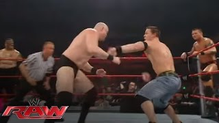 Download John Cena & Randy Orton battle the entire Raw roster: Raw, March 17, 2008 Video