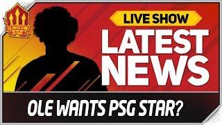 Download Solskjaer Wants PSG Star! Man Utd News Video