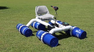 Download Homemade 5 gallon bucket race style fishing boat Video