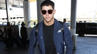 Download Nick Jonas Is Wished Safe Travels At LAX Video