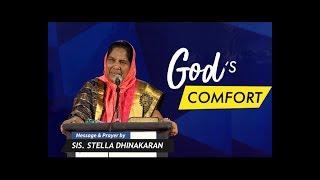 Download God's Comfort (English - Hindi)   Part 1   Sis. Stella Dhinakaran Video