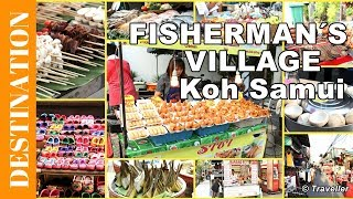 Download Koh Samui attractions - Fisherman's Village Night Market - Thai Street food Video