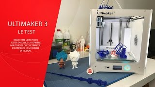 Download Test Ultimaker 3 & Petit Concours Video
