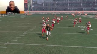 Download Who Can Score a Punt Return Touchdown First!? Tyreek Hill or 99 Speed John Ross? 4.22 40yd Dash!! Video