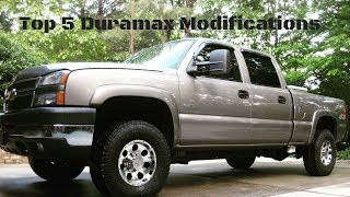 Download TOP 5 MUST DO MODS FOR RELIABILITY AND PERFORMANCE FOR YOUR DURAMAX!! Video