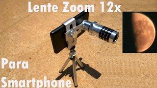 Download Lente Para Celular Zoom 12x Para Smartphone Testado no Quantum Go Review Video