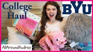Download BACK TO SCHOOL COLLEGE HAUL! / AllAroundAudrey Video