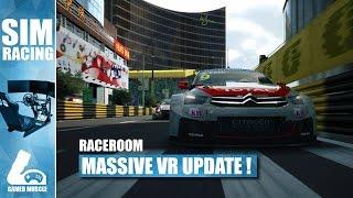 Download RACEROOM RACING EXPERIENCE - HUGE VR UPDATE ! Video