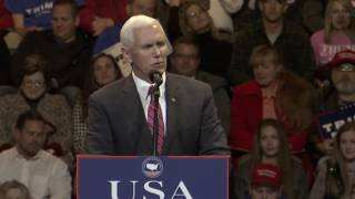Download Mike Pence AMAZING SPEECH at Donald Trump USA THANK YOU Tour 2016 Rally in Cincinnati, Ohio ✔ Video