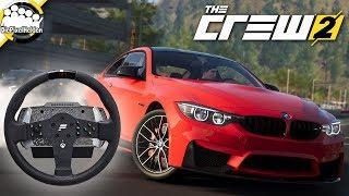 Download THE CREW 2 - Lenkrad-Check mit dem Fanatec CSL Elite Wheel - The Crew 2 Closed Beta Video