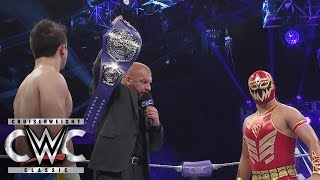 Download Triple H reveals the new WWE Cruiserweight Championship: Cruiserweight Classic Live Finale Video