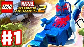 Download LEGO Marvel Super Heroes 2 - Gameplay Walkthrough Part 1 - Guardians of the Galaxy! Video