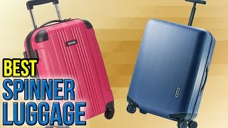 Download 10 Best Spinner Luggage 2017 Video