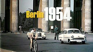 Download Berlin 1957 - 1960 color - Berlin Ost & West vor dem Mauerbau - Berlin East & West without wall Video