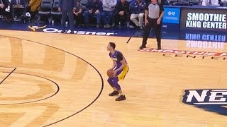 Download Lonzo Ball Tries To Be Stephen Curry & Misses Every Shot! Video
