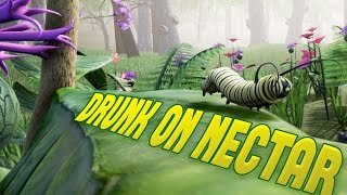 Download Drunk on Nectar - I'M A BEAUTIFUL BUTTERFLY! - Insect Simulator - Drunk on Nectar Gameplay Video
